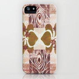 Monoprint 7 iPhone Case