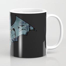 Batty Cutout Coffee Mug