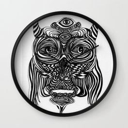 Spirit Owl Wall Clock