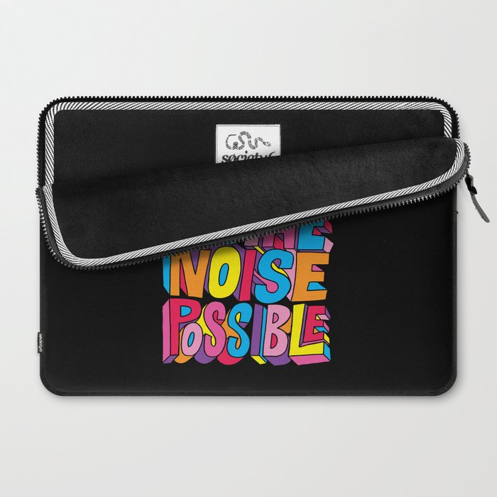Make all the noise possible! Laptop Sleeve