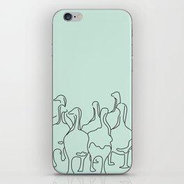 Mama Goose and Goslings iPhone Skin