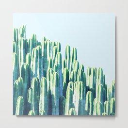 Cactus by the Sea #society6 #decor #buyart Metal Print