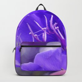 Melancholy violet by #Bizzartino Backpack