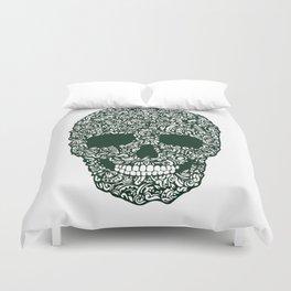 Moss Skull Duvet Cover
