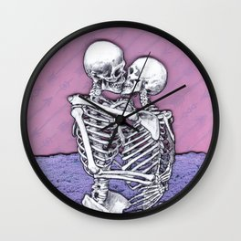 At The End Of All Things Wall Clock