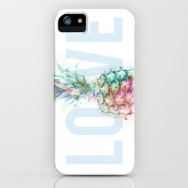 Pineapple Love iPhone Case