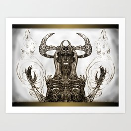 Goddess Bone Art Print