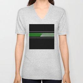 Team Colors 5...Green Unisex V-Neck