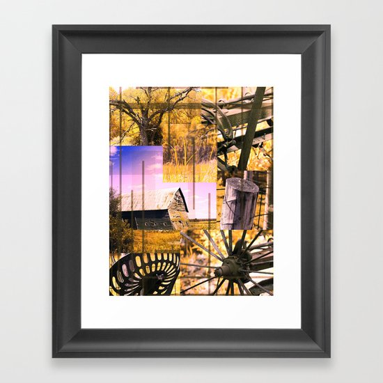 The Old Farm 3 Framed Art Print
