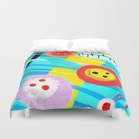 germany Duvet Covers featuring Langeoog Germany by Ruth Fitta Schulz
