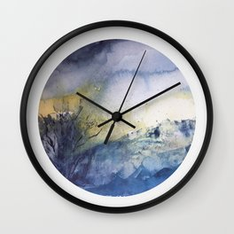 genius loci 1 Wall Clock