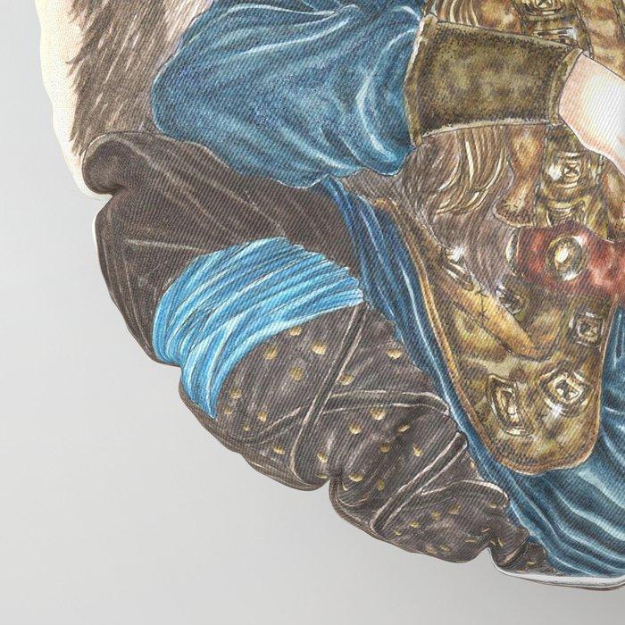 The Guardian of Bifrost Floor Pillow