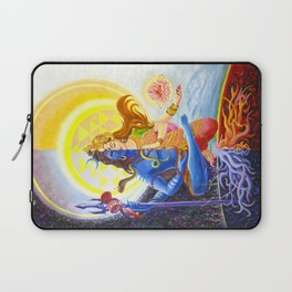 Shiva and Shakti Laptop Sleeve