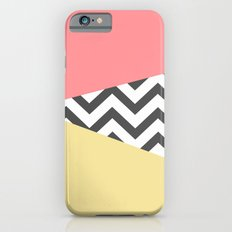 Color Blocked Chevron 2 iPhone 6s Slim Case
