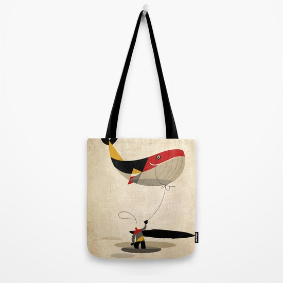 thoughts on a leash Tote Bag