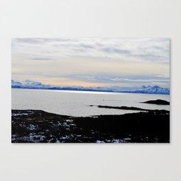 Solnedgang Canvas Print