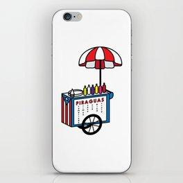 Piragua Cart iPhone Skin