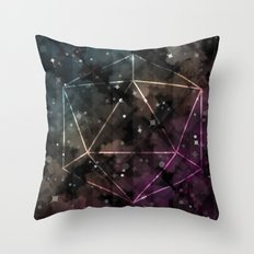 Midnight Constant Throw Pillow