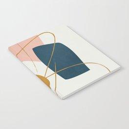 Minimal Abstract Shapes No.46 Notebook