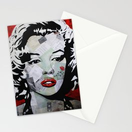Marilyn «Red Flower» Stationery Cards