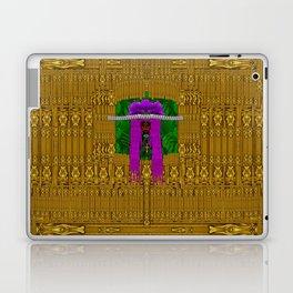 Lady Panda visits Taj Mahal Laptop & iPad Skin