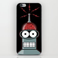 bender iPhone & iPod Skins featuring Bender by Betmac