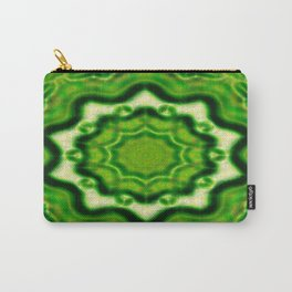 WOOD Element kaleido pattern Carry-All Pouch