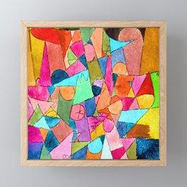 Paul Klee Untitled Framed Mini Art Print