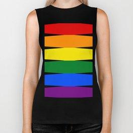 Love is Love 626 - LGBT Gay Flag Biker Tank