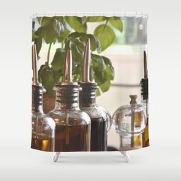 Olive and basilicum Shower Curtain