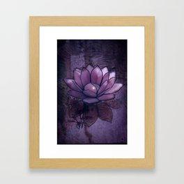 Lotus Light Framed Art Print