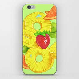 Sliced iPhone Skin