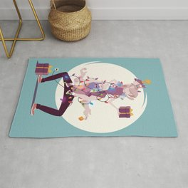 Stay at home dad - Family celebration Rug
