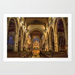 All Saints Maidstone Art Print
