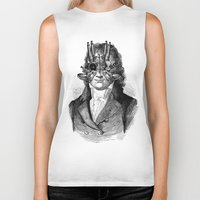 steampunk Biker Tanks featuring Steampunk by DIVIDUS