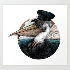 Captain Arthur Shrewsbury Art Print