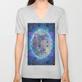 Code - The Great Wall - Moon Unisex V-Neck