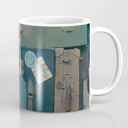 Vintage Suitcases (Color) Coffee Mug