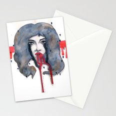 Go on let it Bleed  Stationery Cards