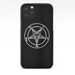 Das Siegel des Baphomet - The Sigil of Baphomet (white) iPhone Case