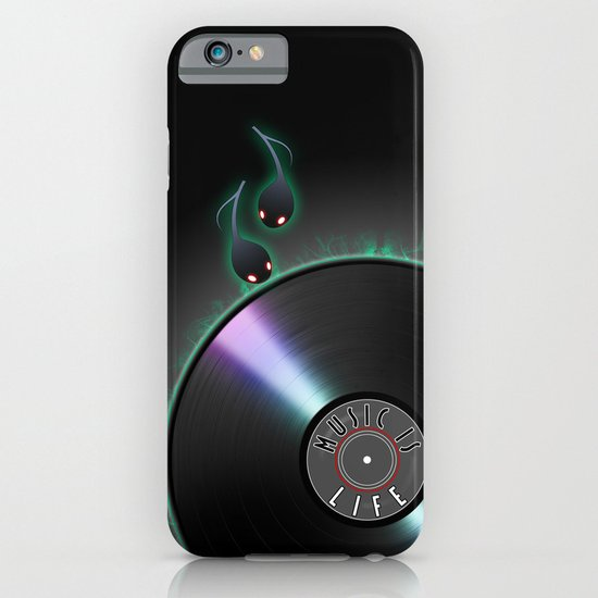 music is... life iPhone & iPod Case