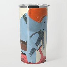 the elephant mobile Travel Mug