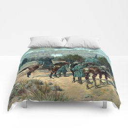 Battle Of Chattanooga - Missionary Ridge Comforters