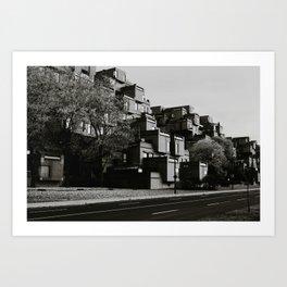 Habitat 67 Art Print