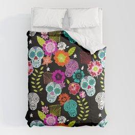 Dias De Los Muertos Comforters