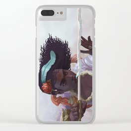 The Wordsmith (vertical Clear iPhone Case