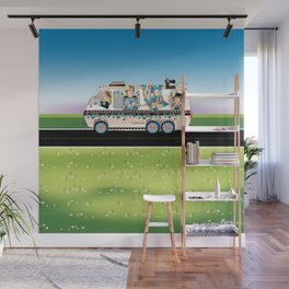 Quiltmobile Wall Mural