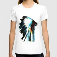 headdress T-shirts featuring Headdress by James Peart