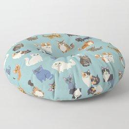 Cats! Floor Pillow