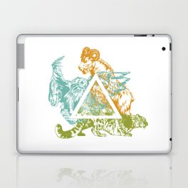 Power Trio Laptop & iPad Skin